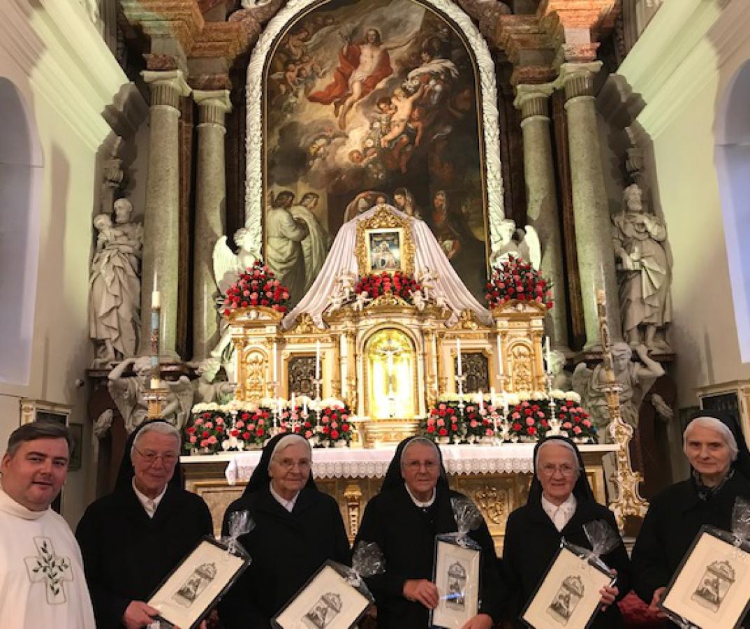 Schwestern der Congregatio Jesu in der Gartlbergkirche verabschiedet