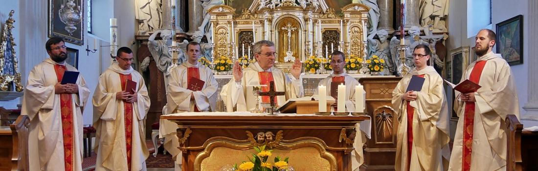 Pauliner Neupriester in Gartlberg